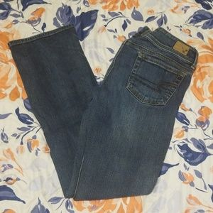 American Eagle boot cut jeans- EUC